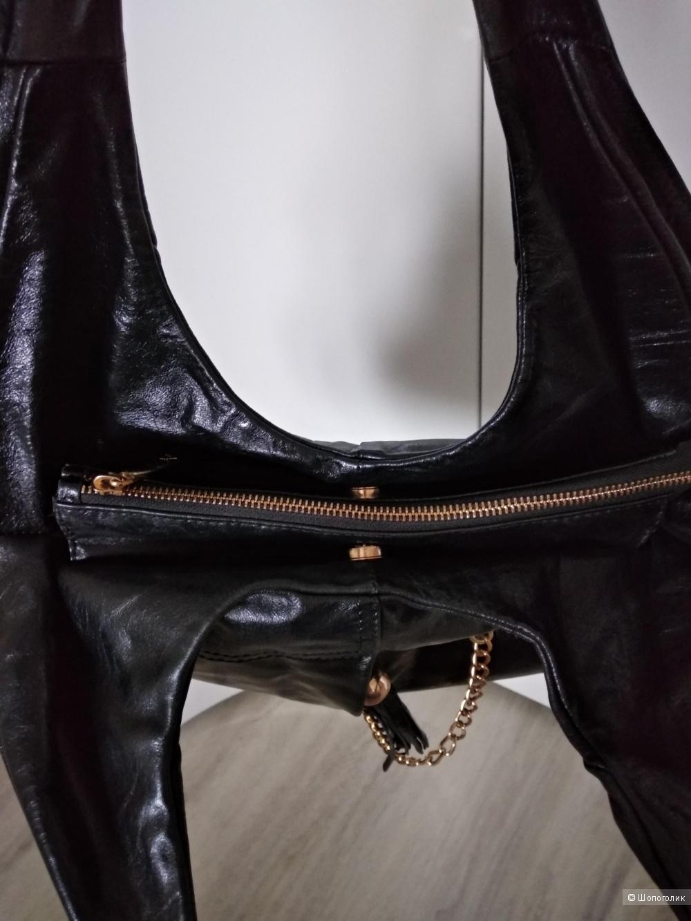Кожаная сумка Francesco marconi