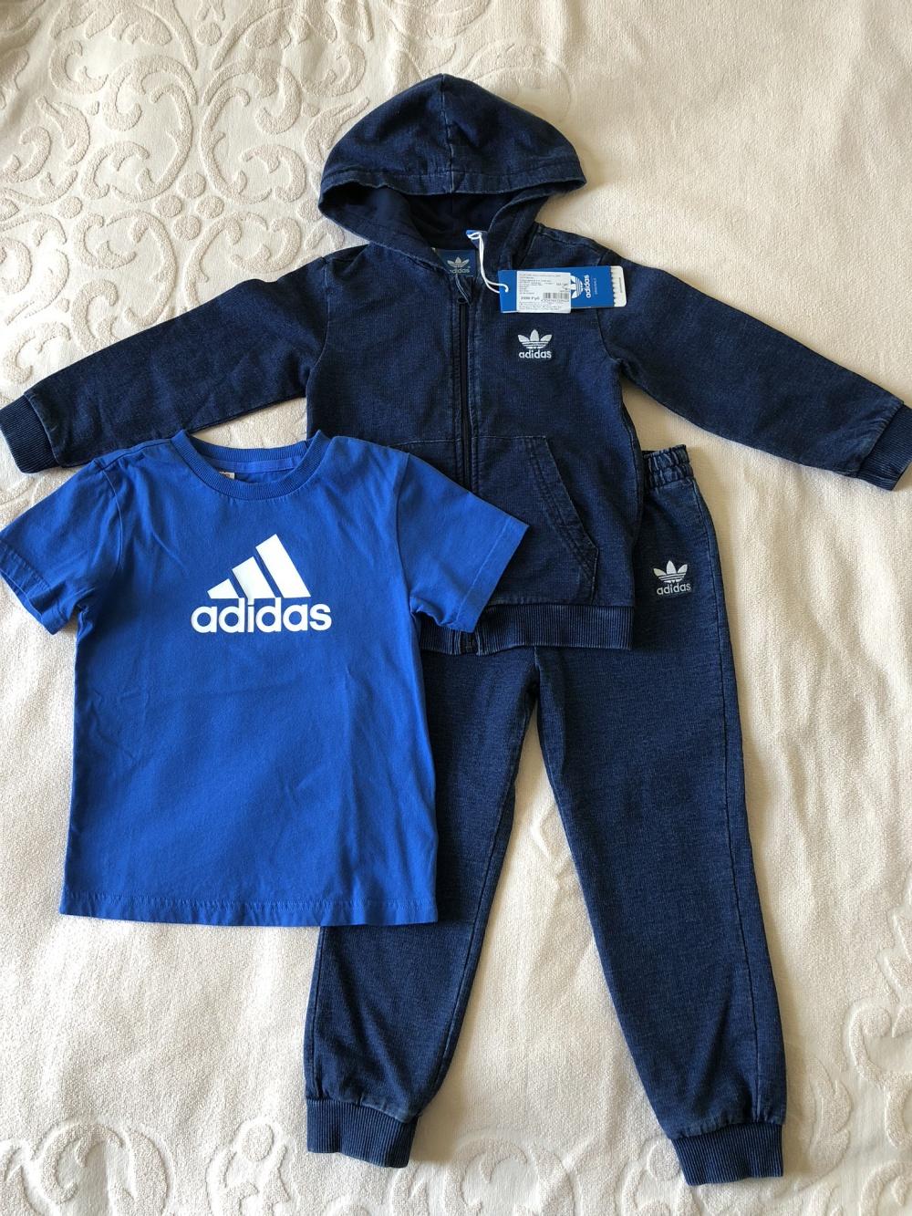 Спортивный костюм Adidas 4 года 104 см новый