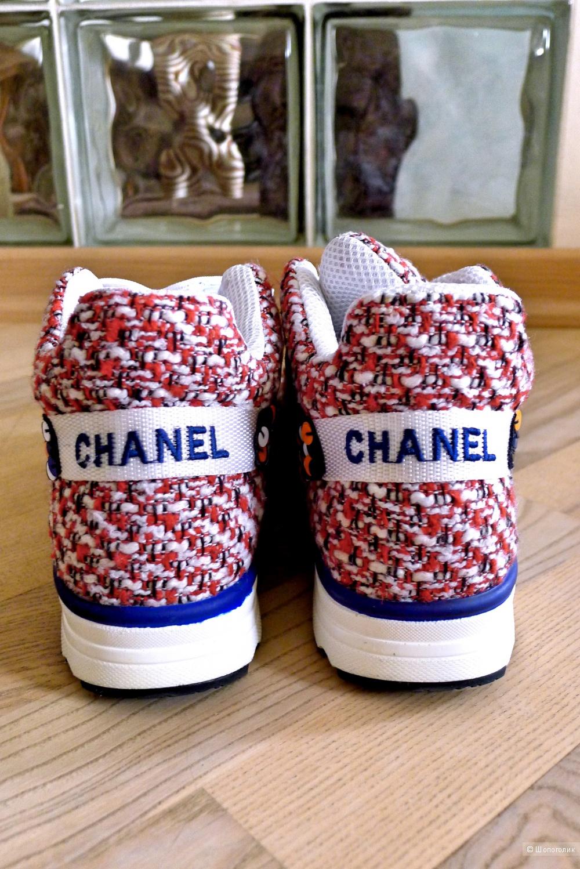 Кроссовки в стиле CHANEL размер 36