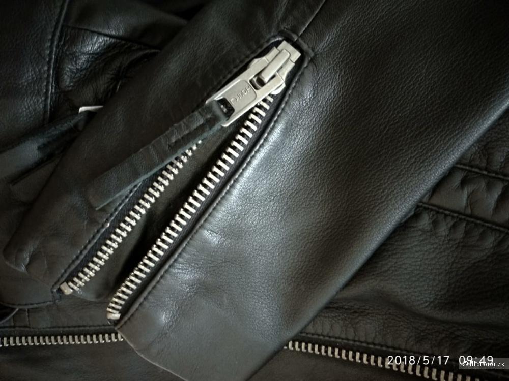 BOLONGARO TREVOR Кожаная куртка размер  M