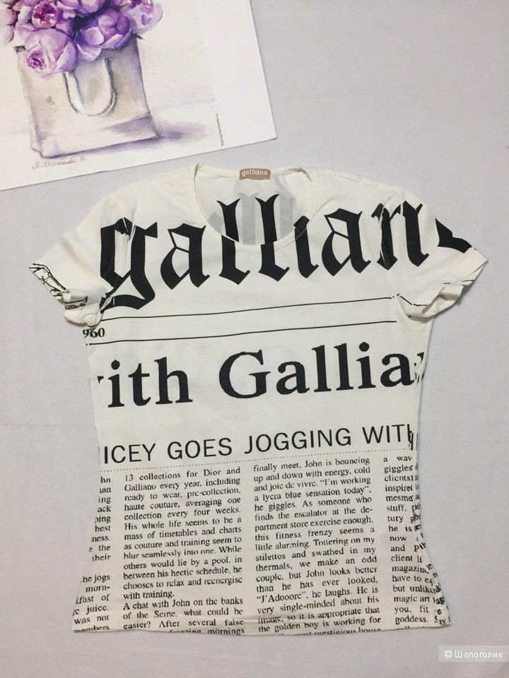Майка Galliano 42-44 рос