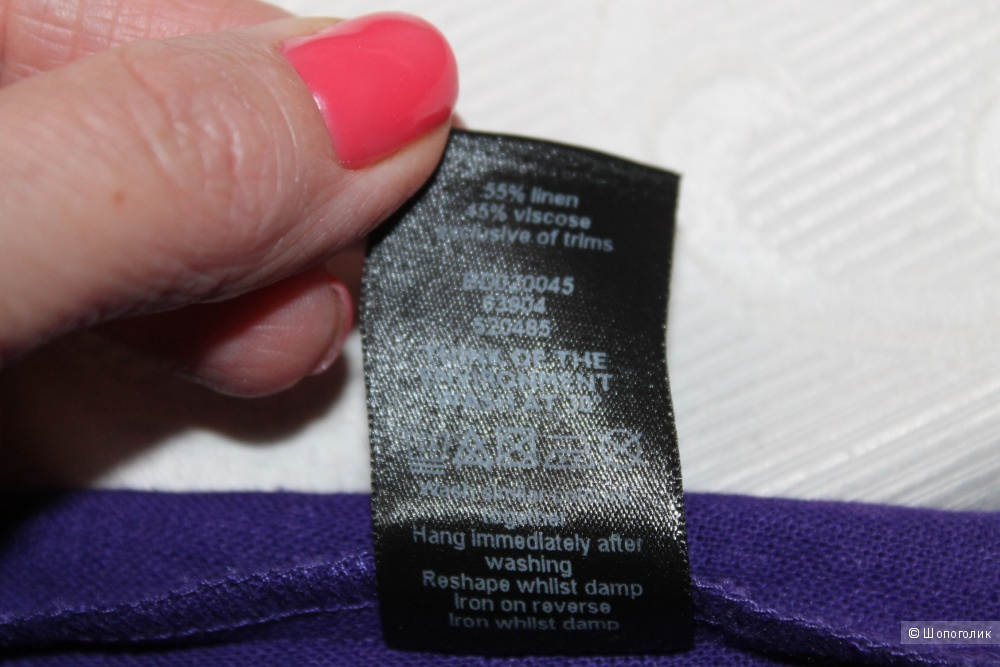 Льняное платье F&F, размер 42-44