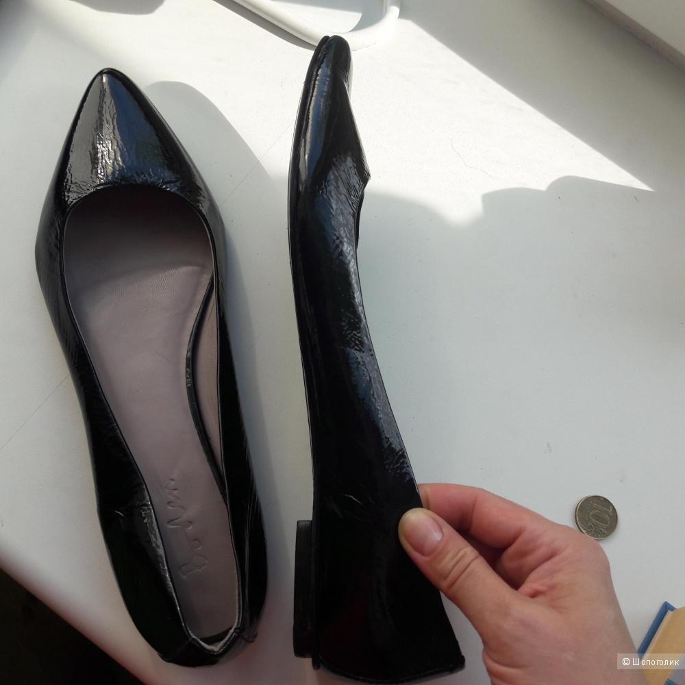 Кожаные туфли Boden 39.5 размера