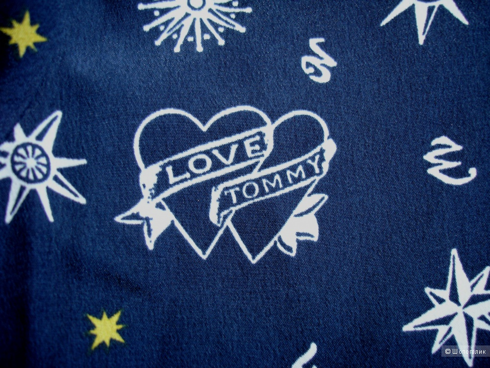 Шелковая блуза Tommy Hilfiger & Gigi Hadid, размер US 6