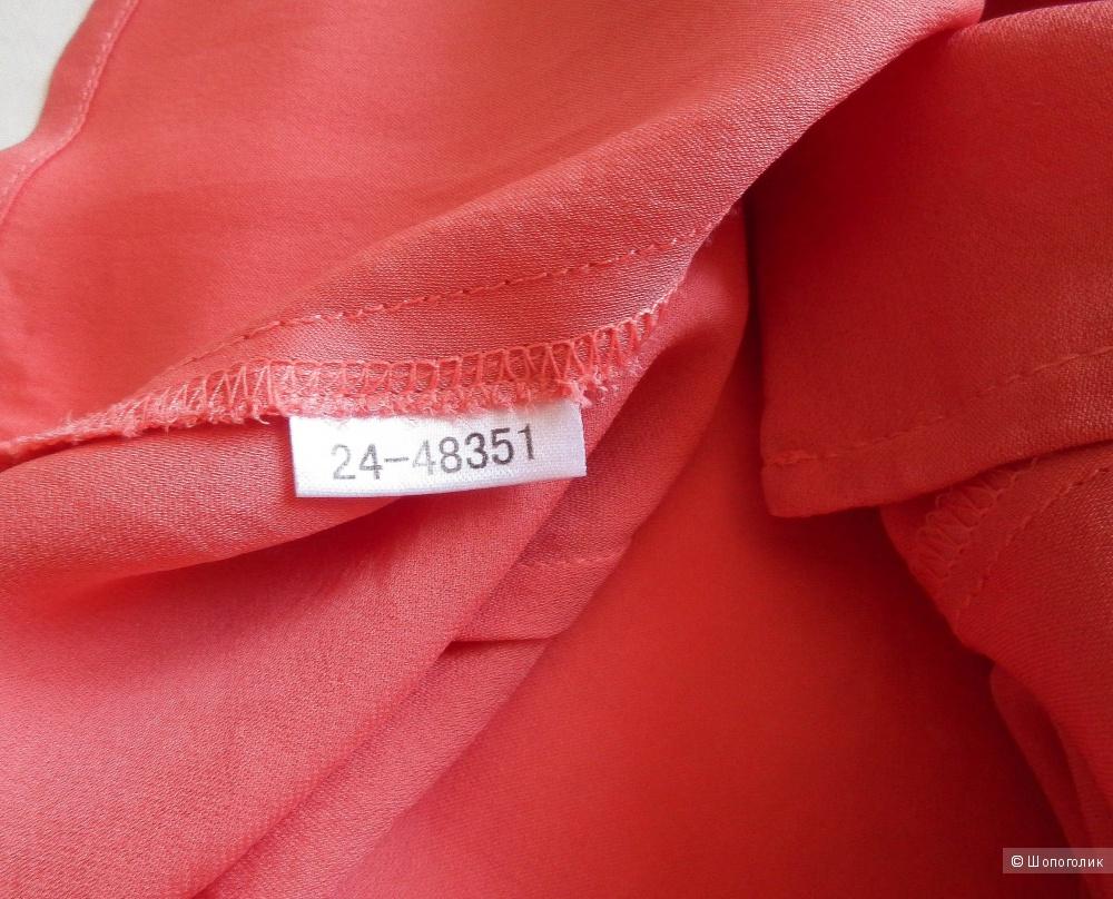 100% шелковая блузка Ann Tailor 42-44р