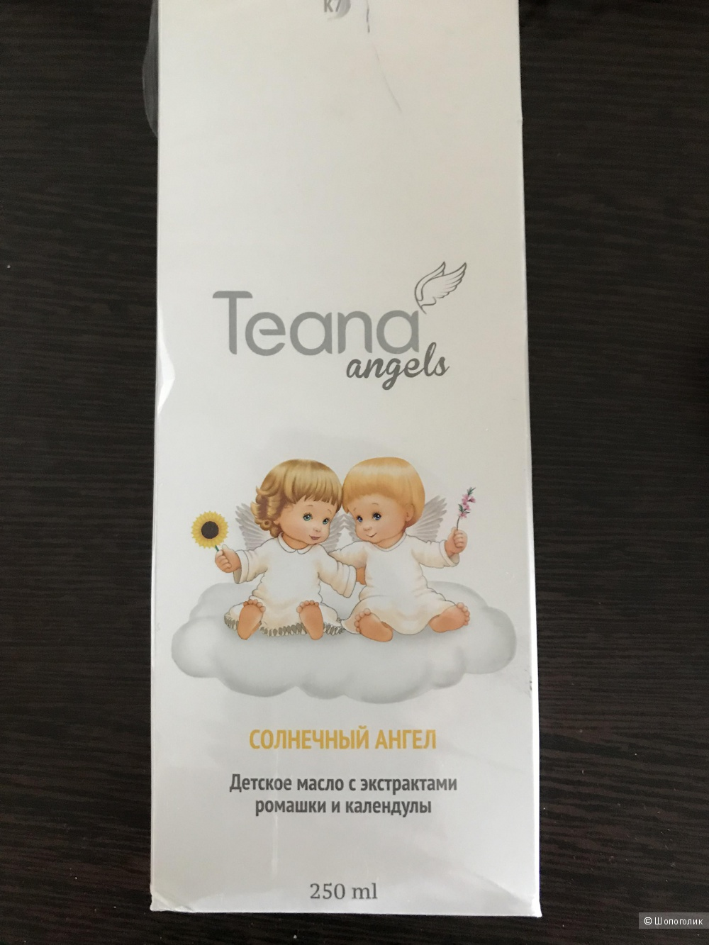 Детское масло Teana