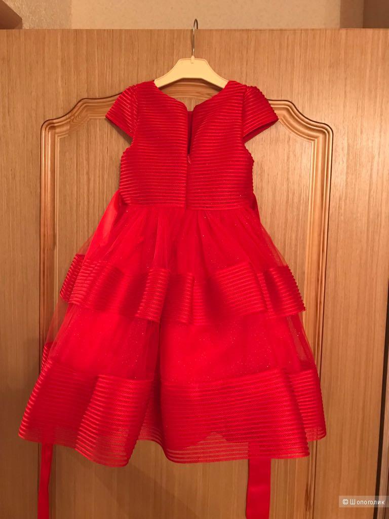 Платье для девочки. Размер 98-104.
