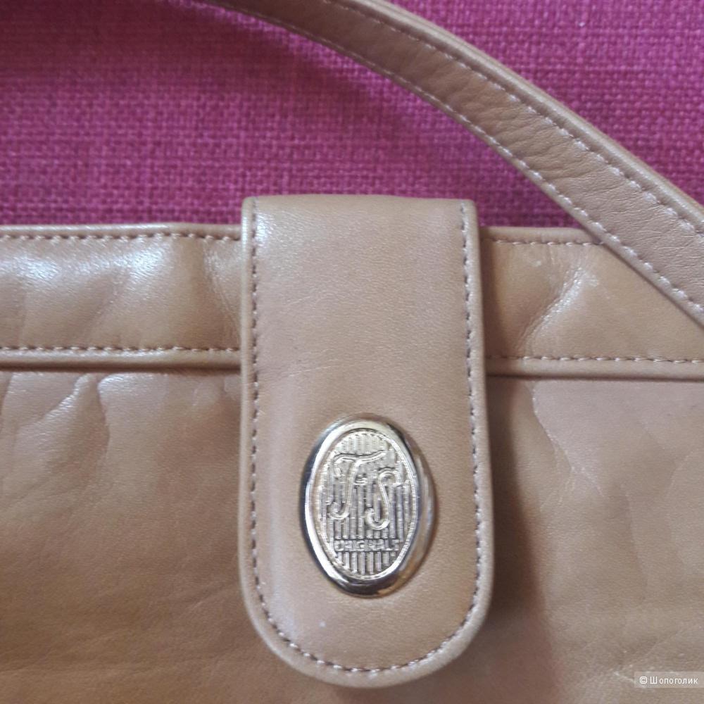Кожаная сумка DB