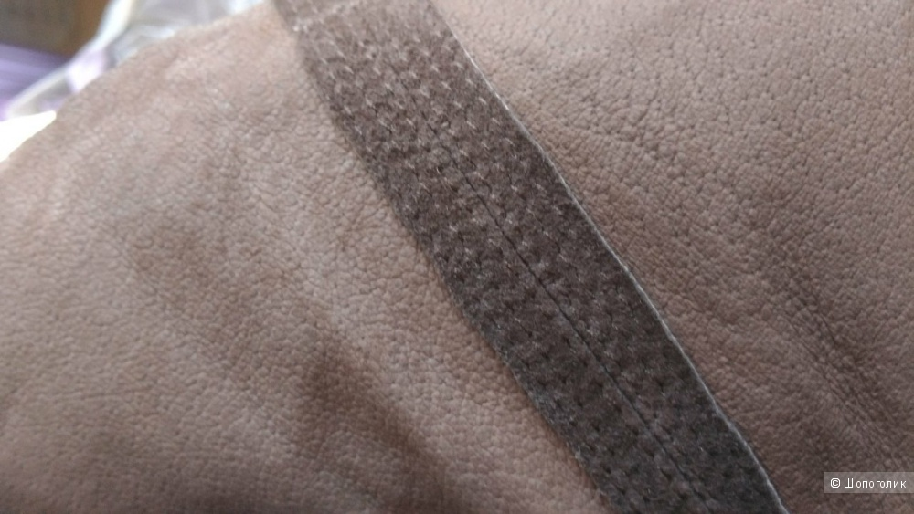 Юбка натуральная кожа Promod р.46-48