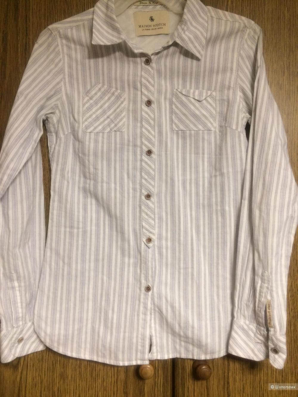 Рубашка MAISON SCOTCH размер 2 (42-44)