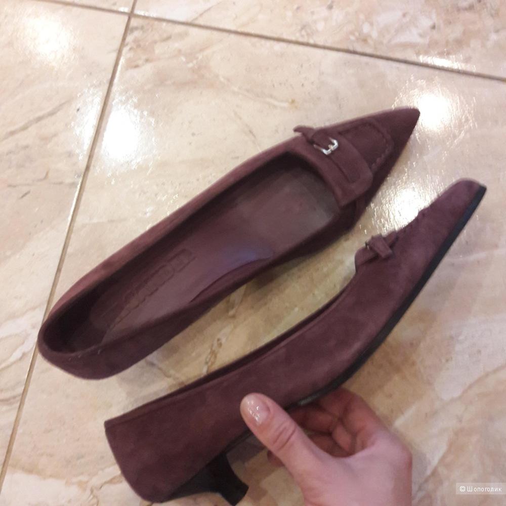 Кожаные туфли Jil  Sander 38.5 размера