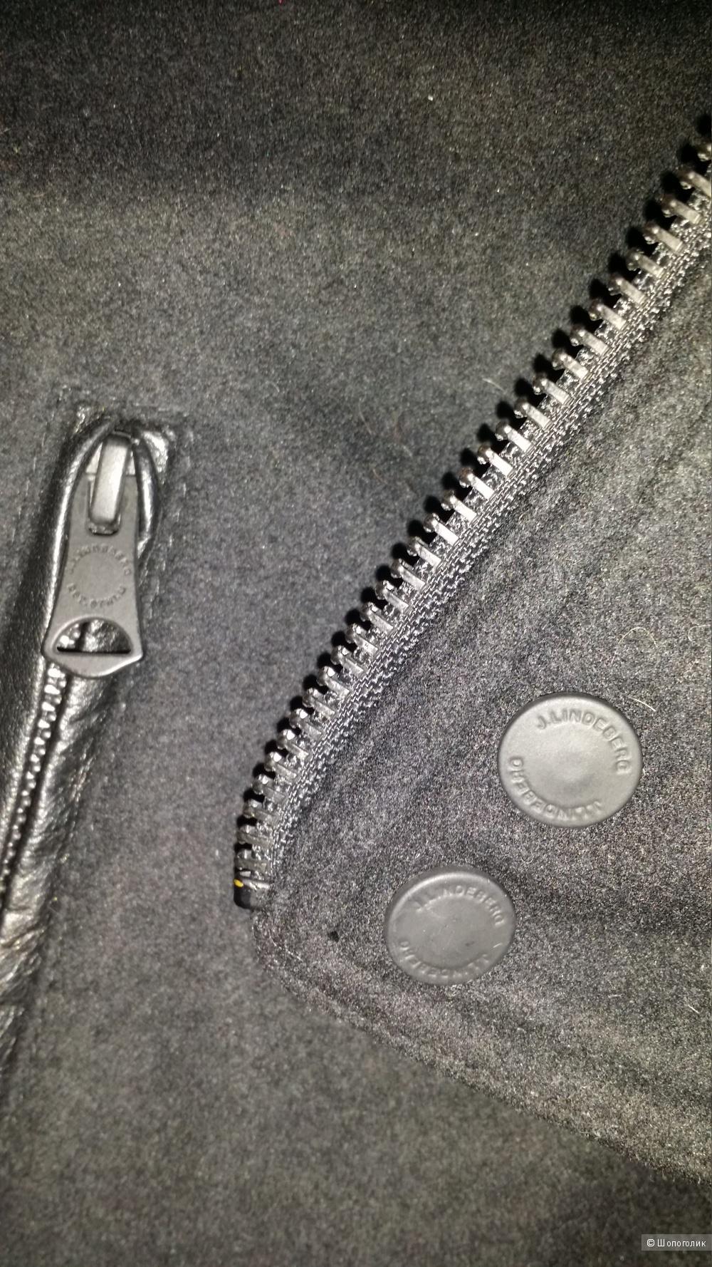Кожаная косуха J.Lindeberg  , 48-50
