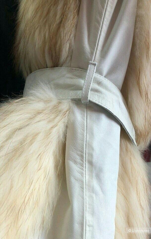 Кожаная жилетка Keruodi,размер 46
