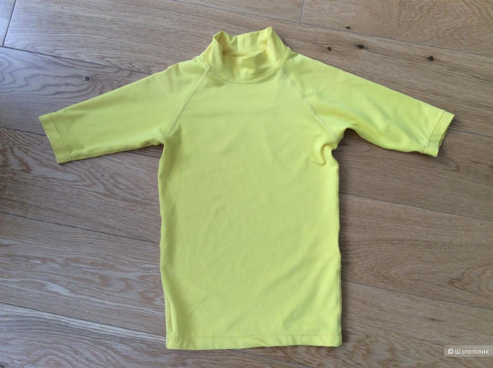 Детская пляжная футболка р.6-7 (на 4-6 лет)