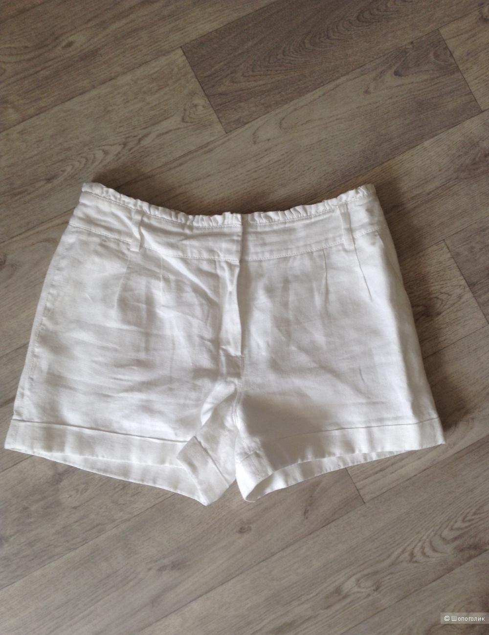 Льняные шорты next, размер 44