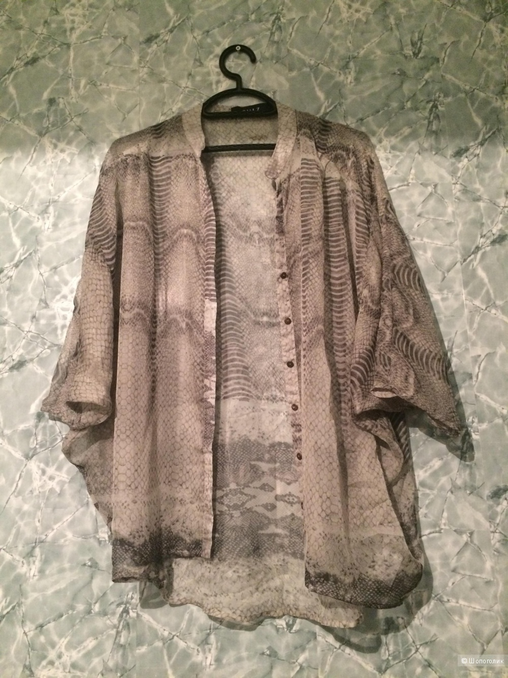 Блуза-накидка pulz jeans, размер one size