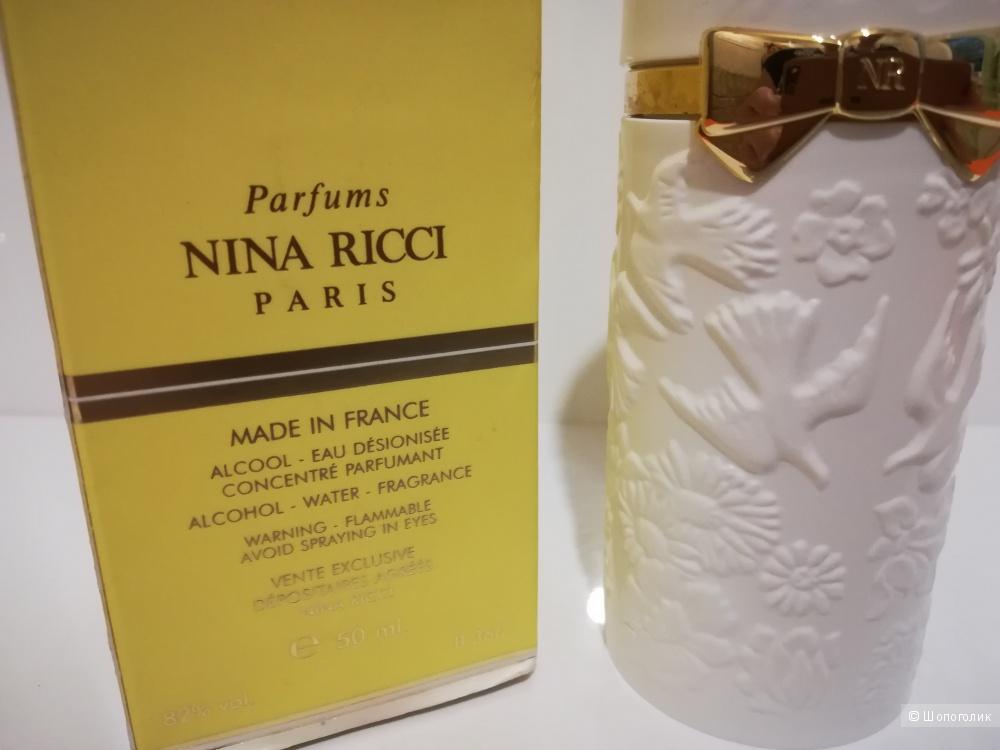 Полнообъемный флакон - L'Air du Temps Nina Ricci 50 мл лимитка в кофре.