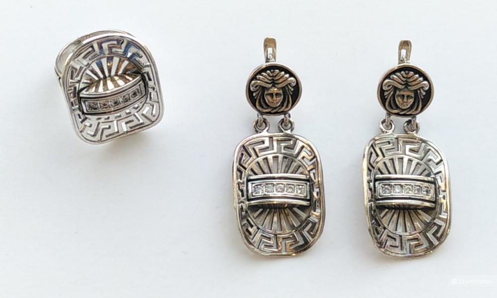 Серьги, серебро 925