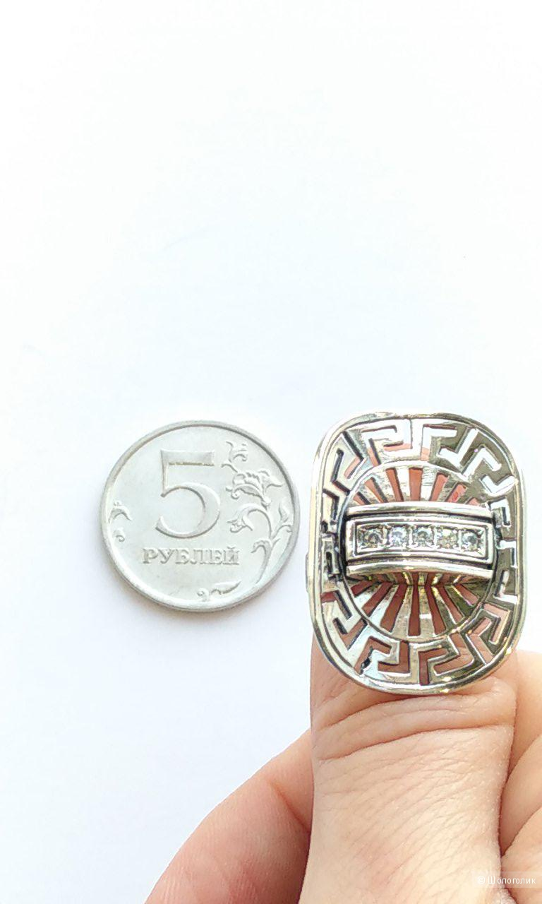 Кольцо серебряное, 925 проба