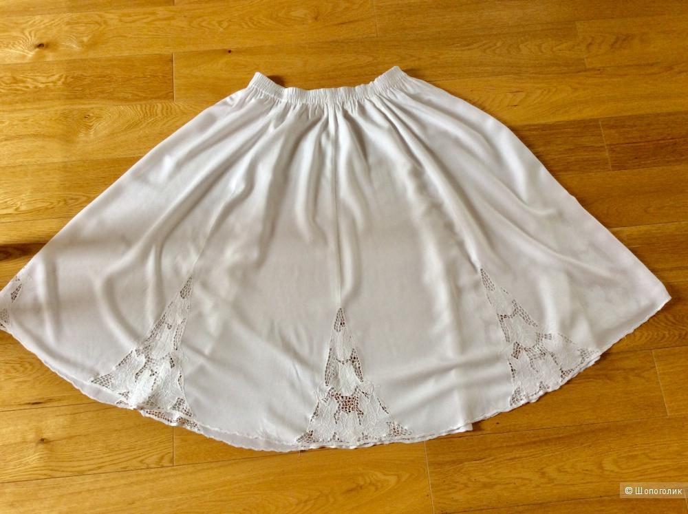 Летняя юбка  Max Mara р. 46-50