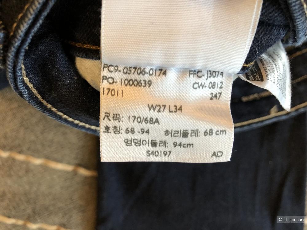 Джинсы Levi's,размер 27/34