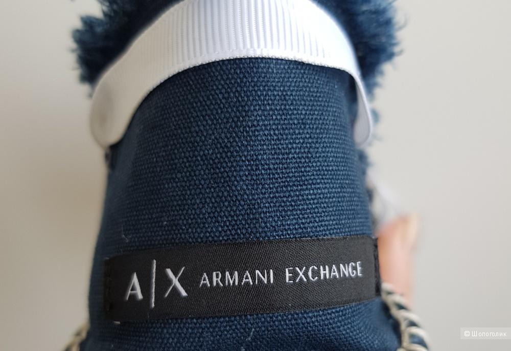 Эспадрильи Armani Exchange. Размер 38,5-39