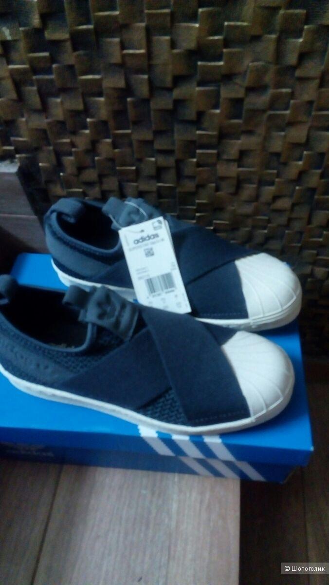 Кроссовки-слипоны Adidas Superstar, размер  35.5