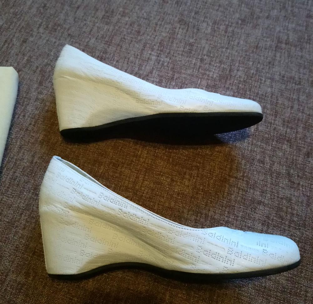 Туфли Baldinini Trend, 38. Белые