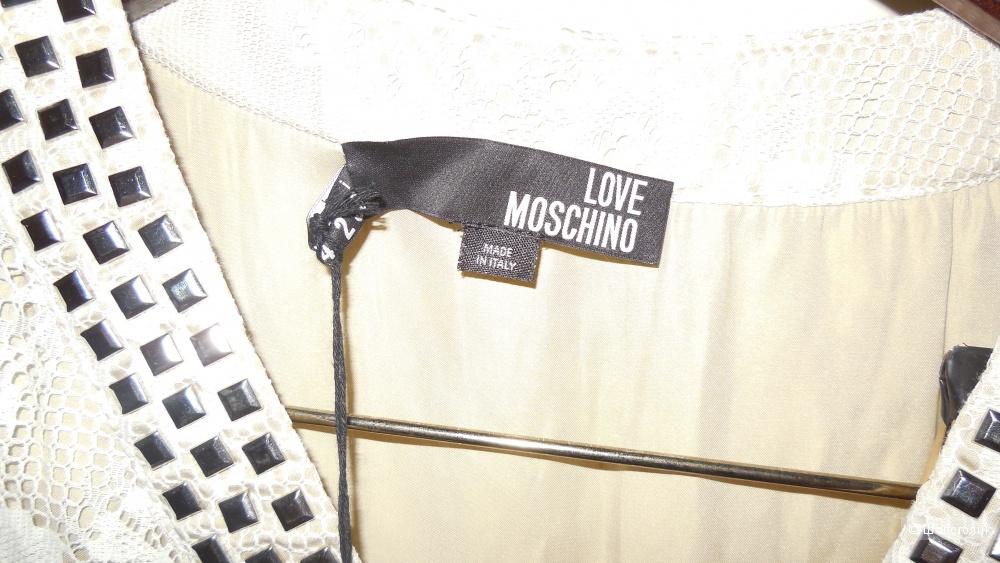Платье Love Moschino, размер 40-42-44.