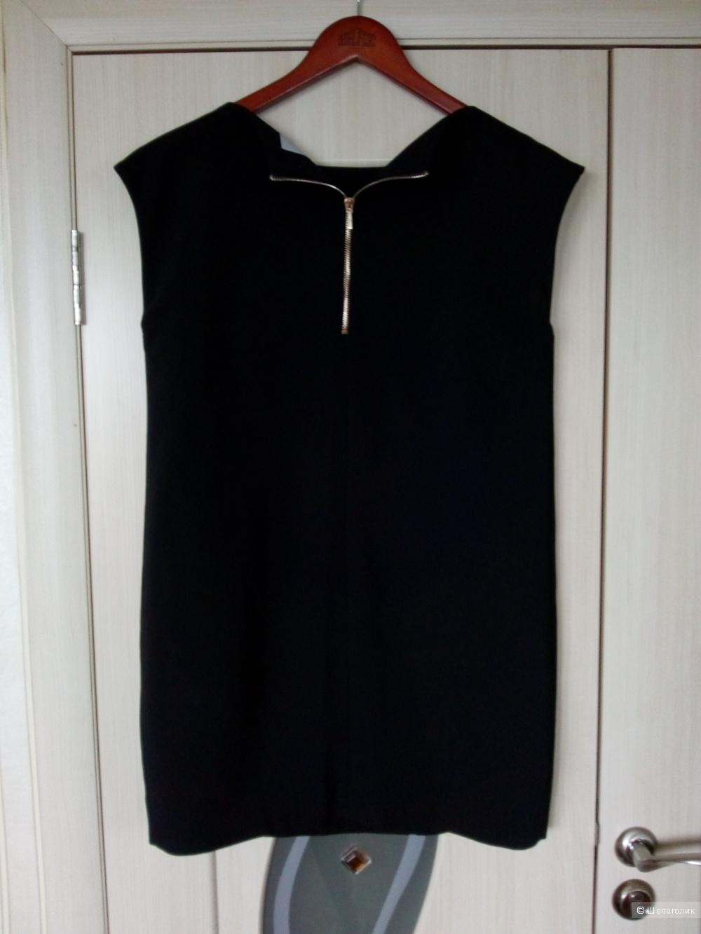 Чёрное платье EKLE размер 44-46