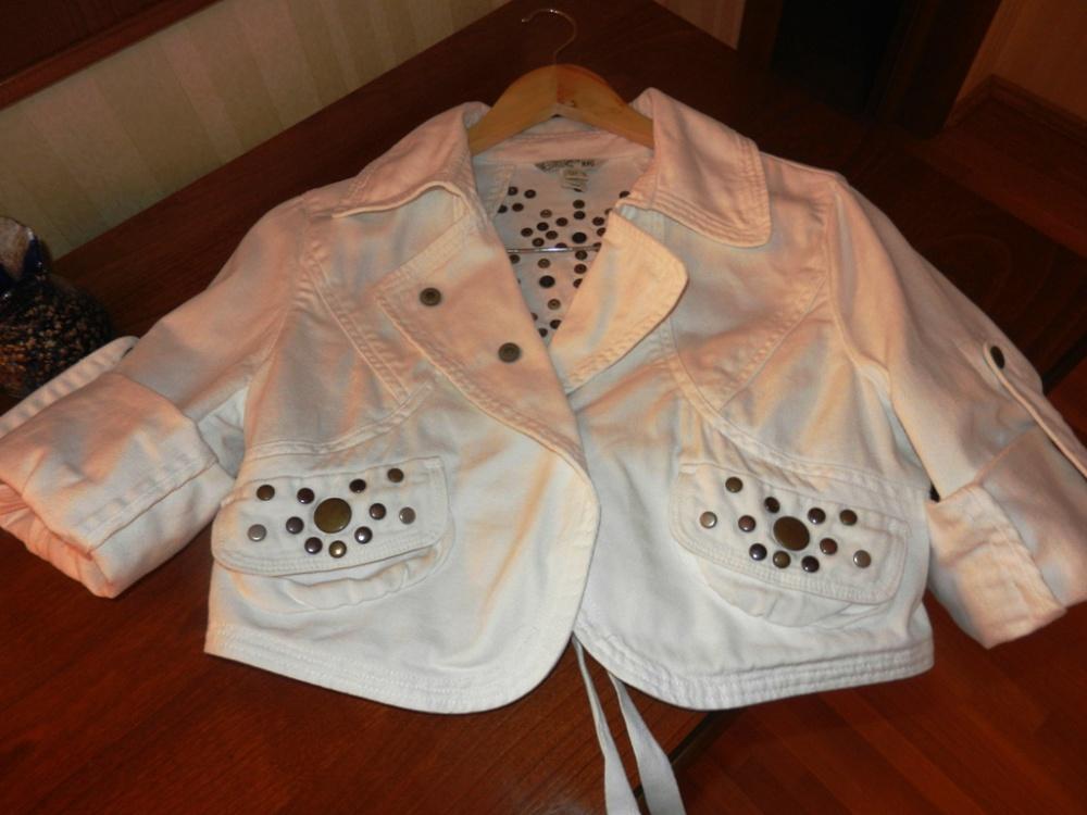 Джинсовая куртка MNG