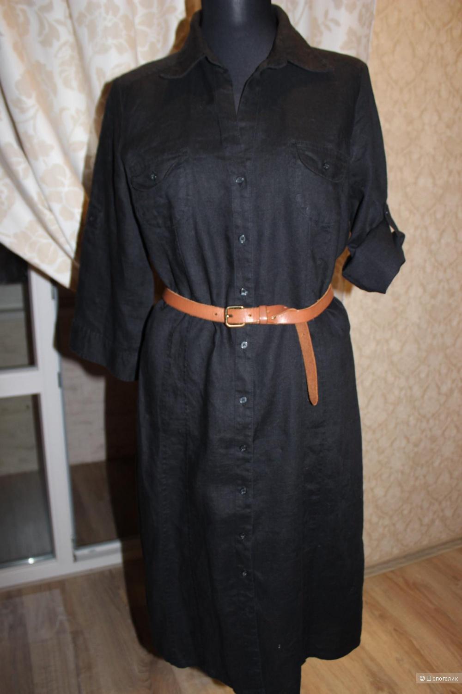 Платье-рубашка h&m, размер 46-48