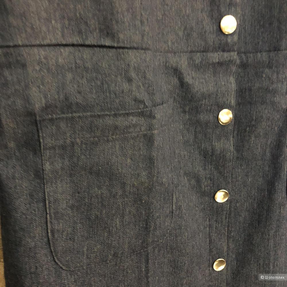 Платье джинсовое Miss Lucky, M