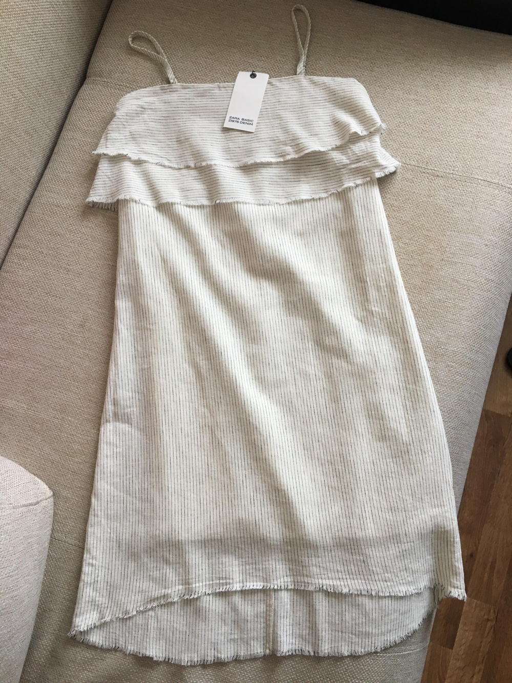 Платье Zara, размер хс большемерка