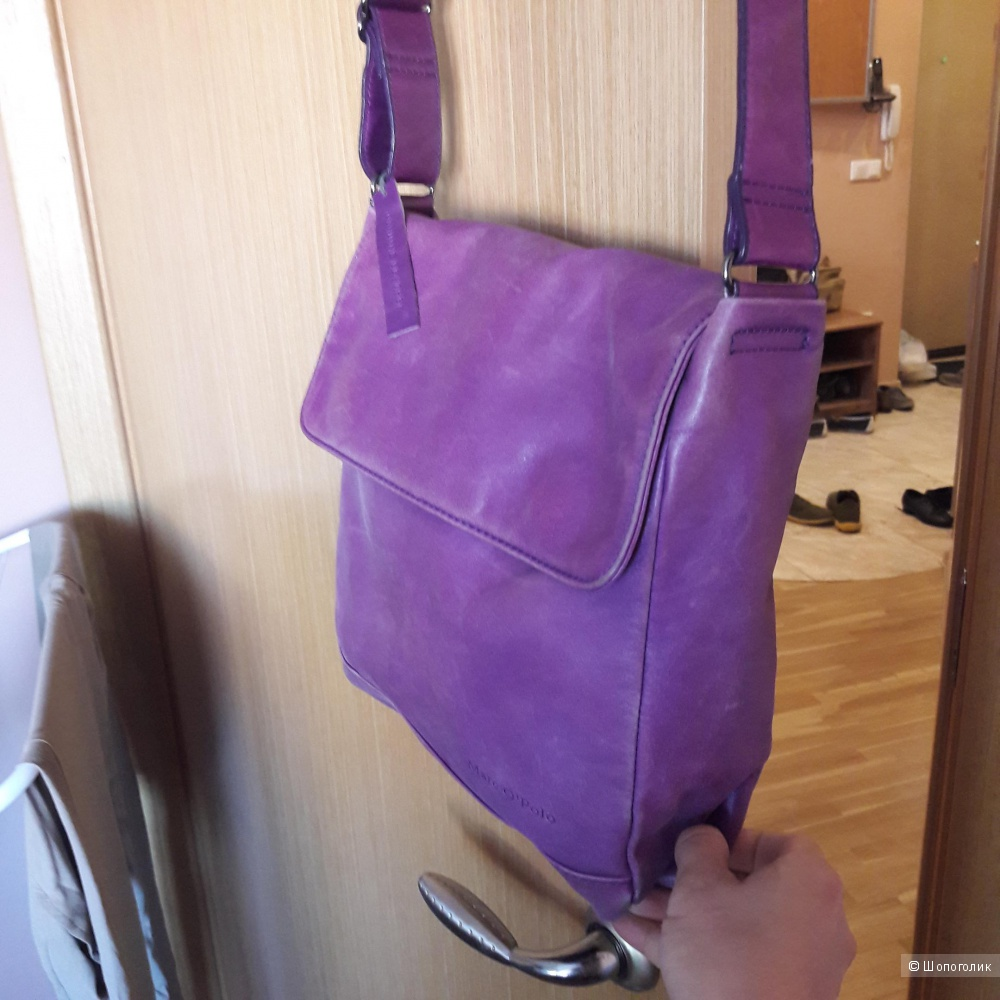 Кожаная сумка Marco Polo