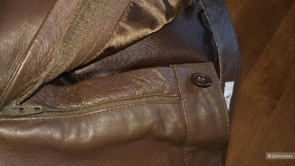 Кожаные брюки Together р.46