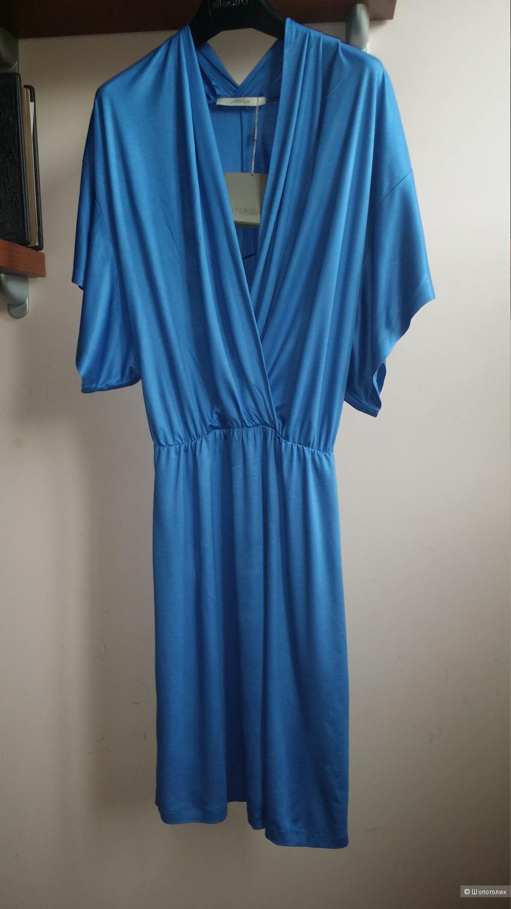 Голубое платье Uterque, М