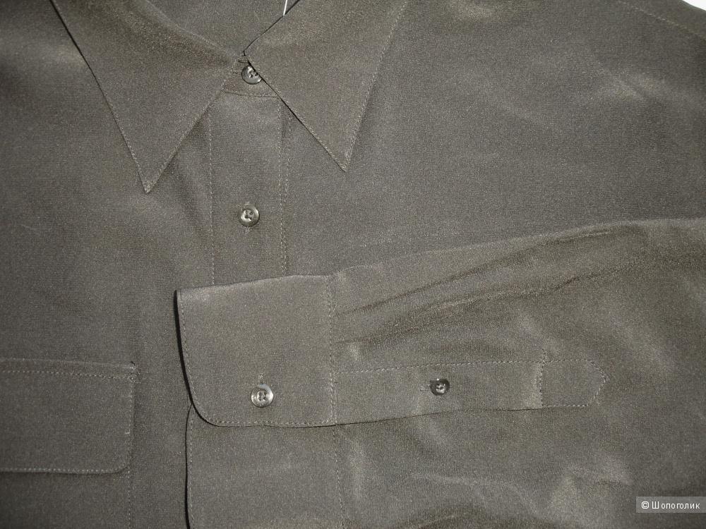 Шелковая рубашка Ralph Lauren, размер XL