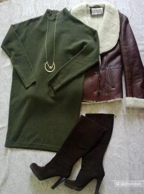 Дубленка Zara Woman, размер М