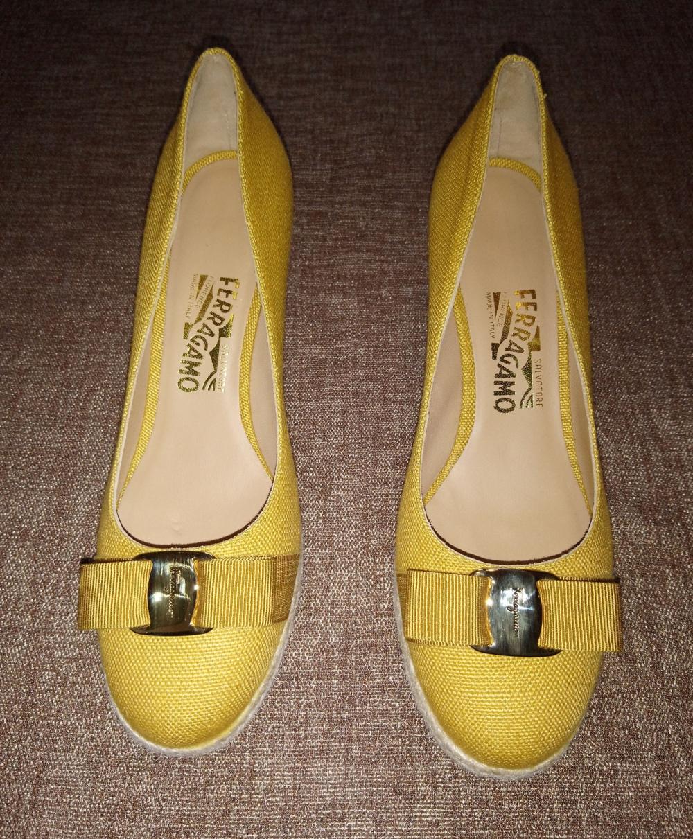 Туфли Salvatore Ferragamo, 8,5 C