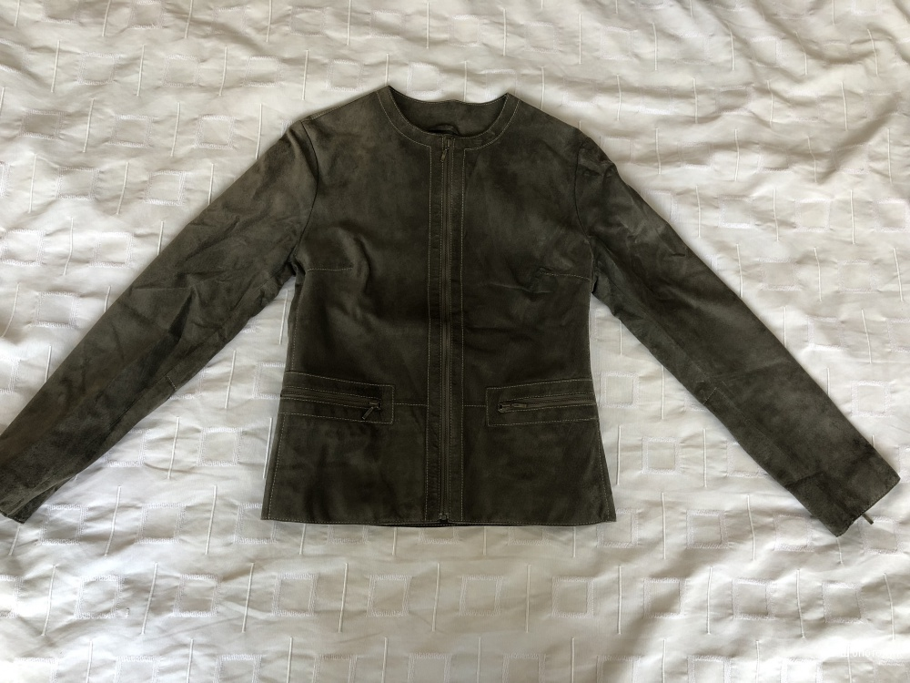 Замшевая куртка Marks&Spencer(S)
