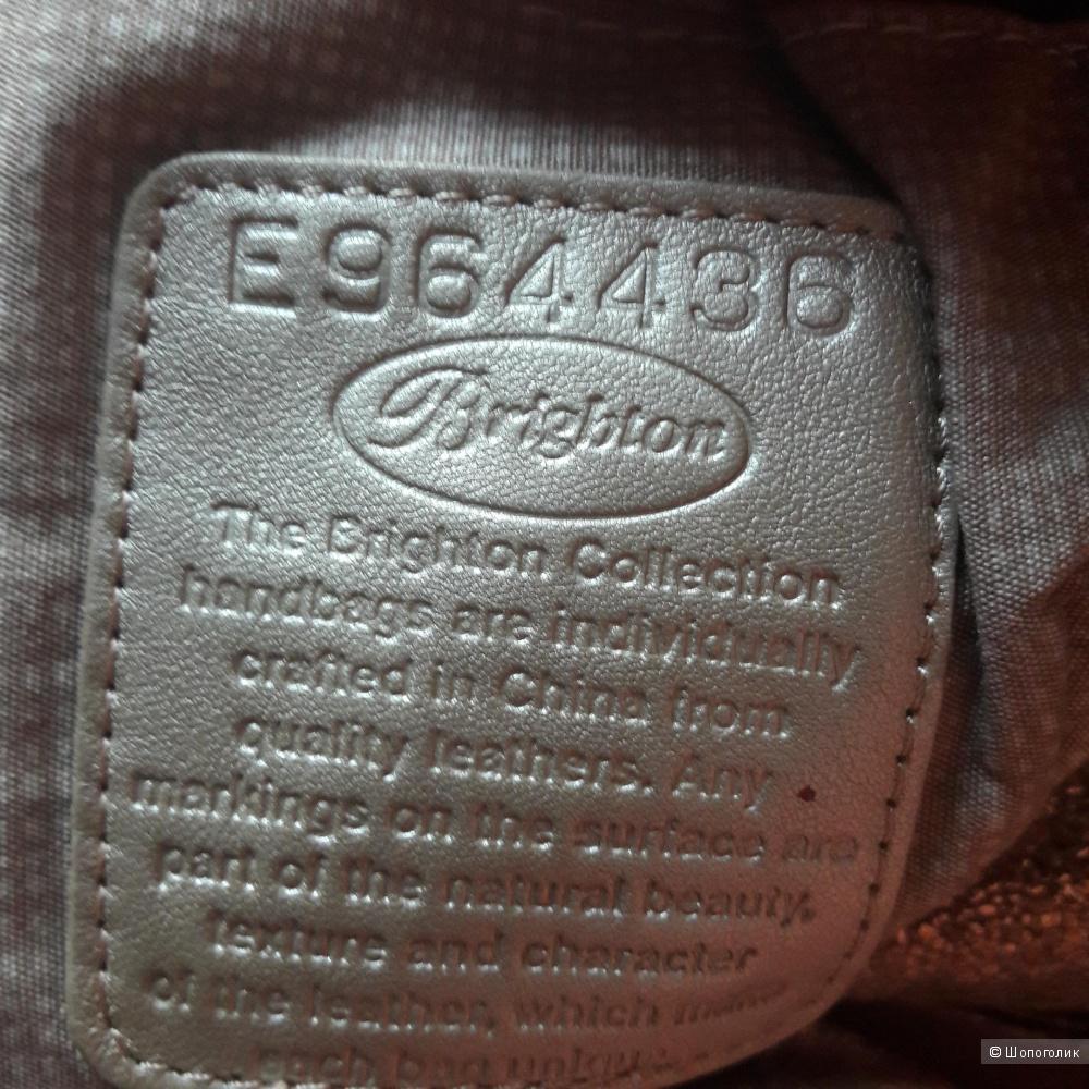 Кожаная сумка Brighton