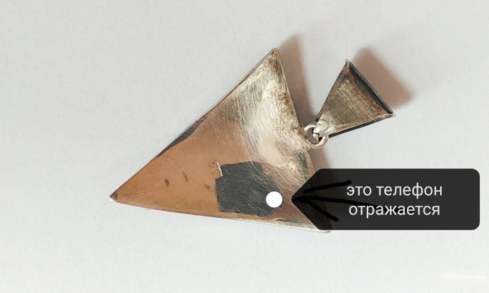 Набор серебряный, в стиле бохо