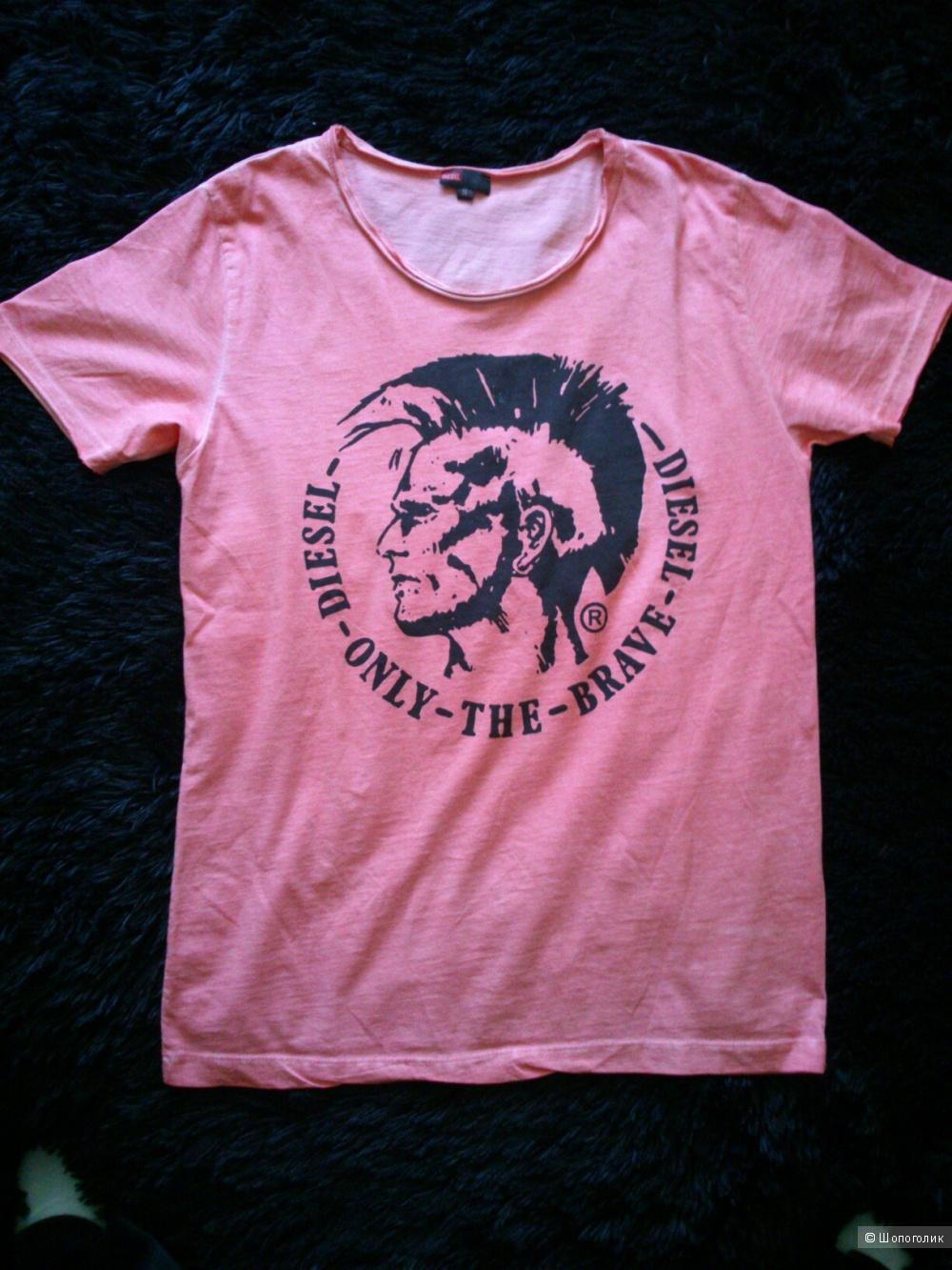 DIESEL, футболка (мужская, унисекс). Размер: S (на 46-48).