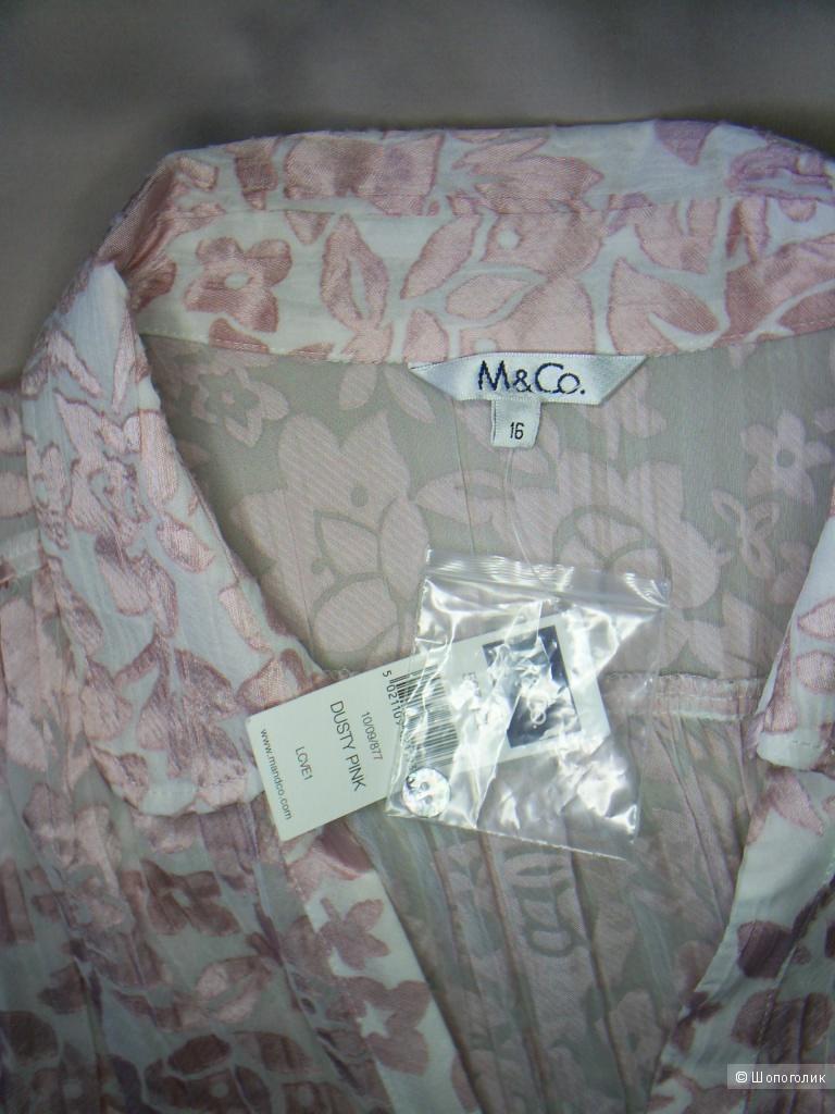 Блузка от M&Co. р 16 анг. на 50 рус.