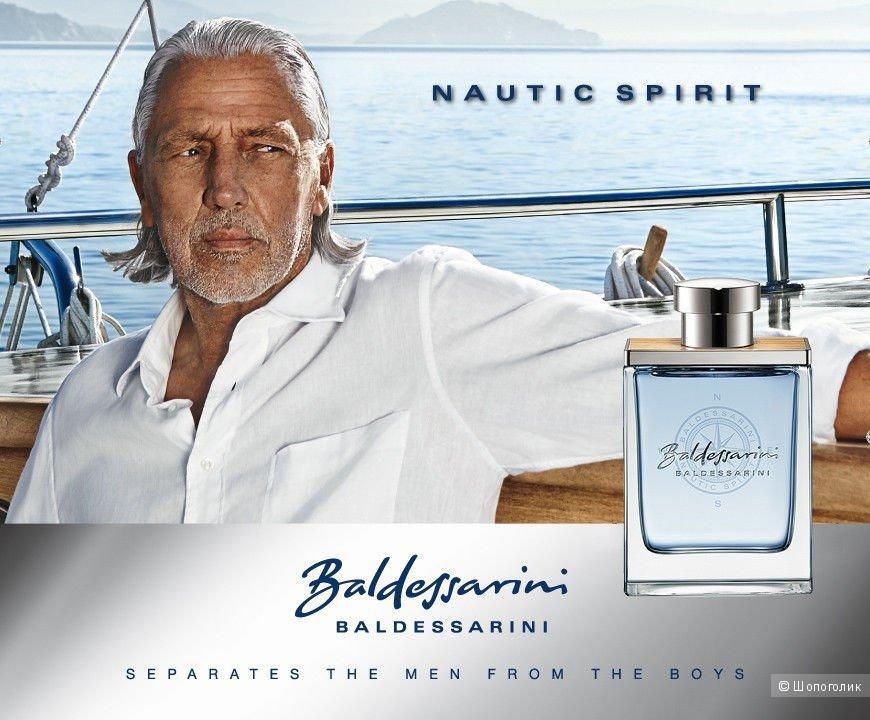 Мужская туалетная вода новая BALDESSARINI Nautic Spirit 50 мл