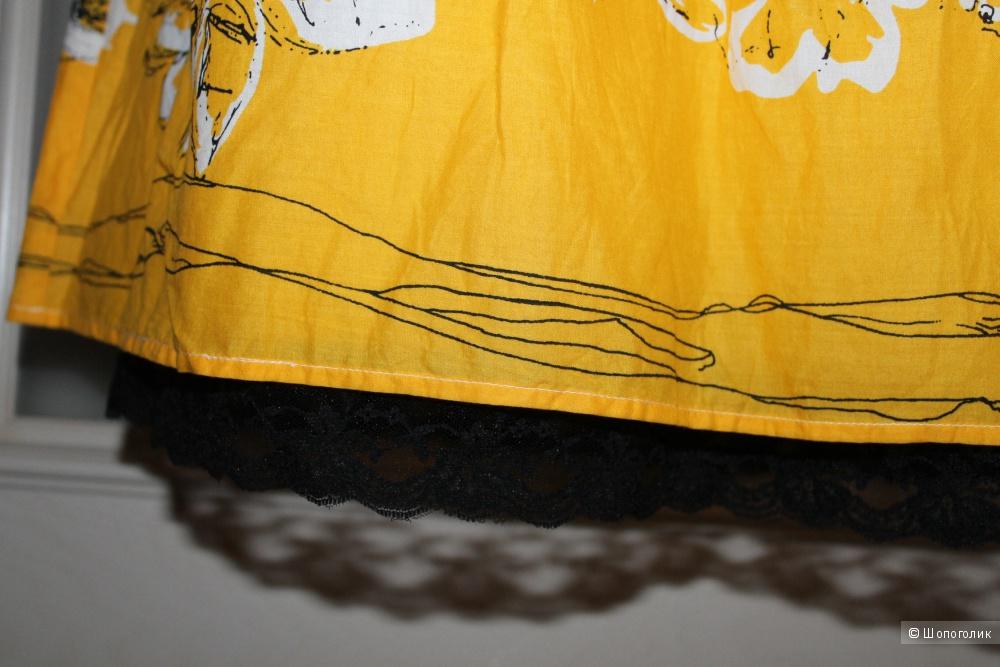 Хлопковое платье бренда b.р.c., размер 44