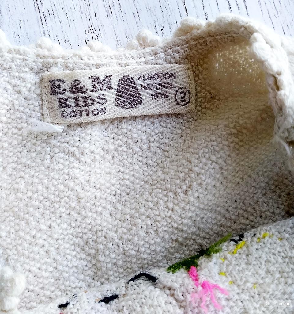 Сарафан E&M Kids cotton, 1-2 года (рост 74-80-86-92-98 см)