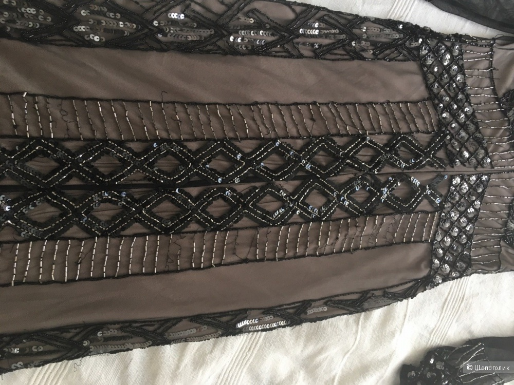 Декорированное  платье River Island UK8
