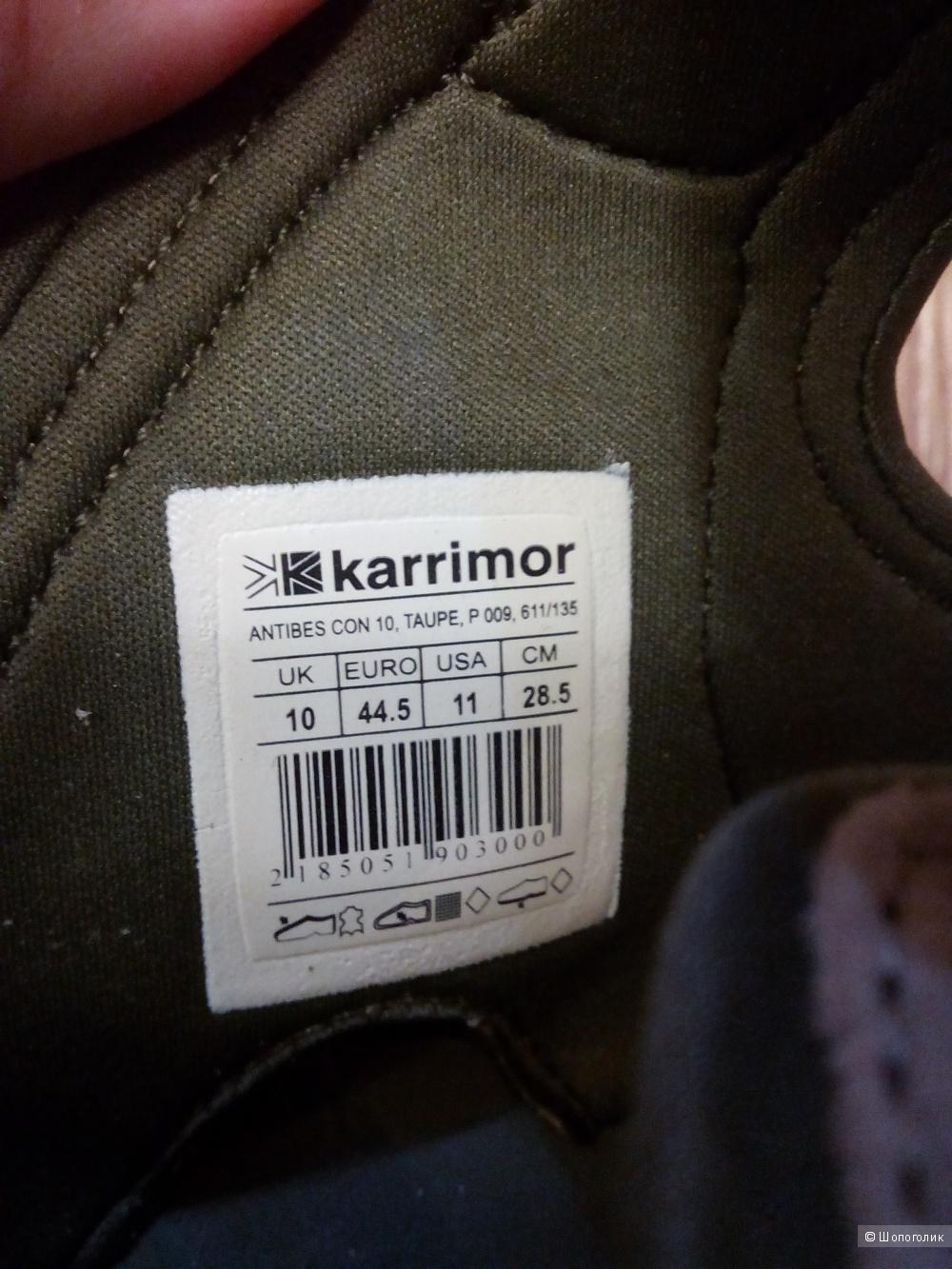 Сандалии karrimor 44,5  европейский, 10 английский